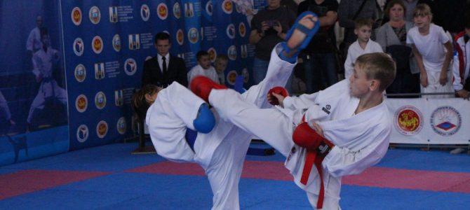 В Южно-Сахалинске завершился первый день областных соревнований по каратэ WKF