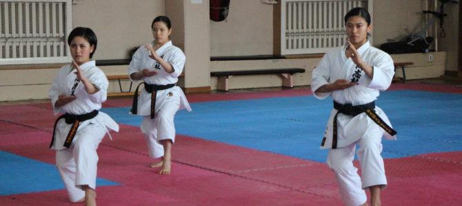 Спортсменки из Японии продемонстрировали сахалинцам искусство каратэ