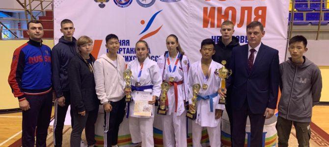 Завершились финальные соревнования Спартакиады учащихся России 2019 по каратэ