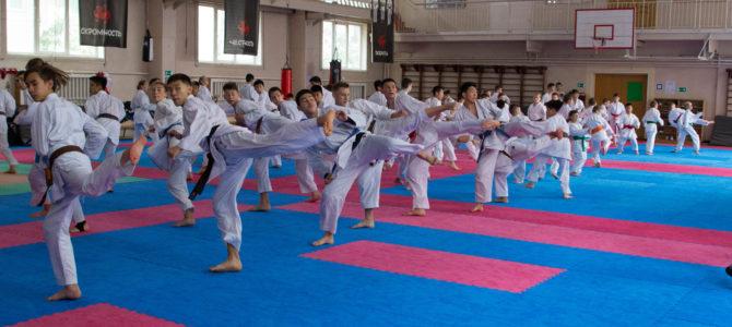 Первый международный семинар по каратэ завершился на Сахалине