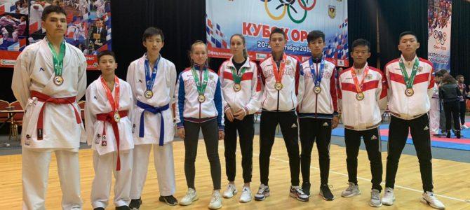 Сахалинские каратисты завоевали девять медалей всероссийских соревнований в Орле