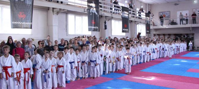 Открытое первенство города Южно-Сахалинска по каратэ WKF состоялось