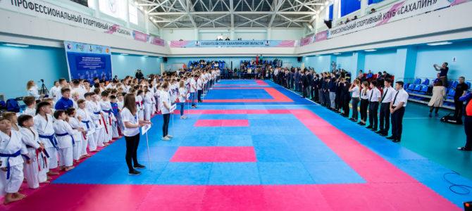 В Южно-Сахалинске состоялись первые международные соревнования по олимпийскому каратэ «Кубок Сахалина»