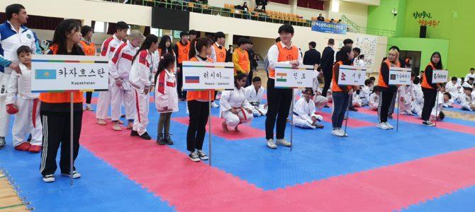 Островные каратисты приняли участие в международных соревнованиях по каратэ в Корее