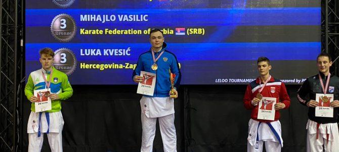 Воспитанники СШОР ВВЕ завоевали 3 медали на международных соревнованиях в Хорватии