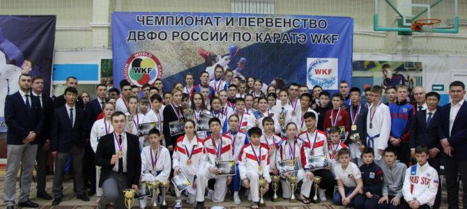 Островные каратисты стали первыми в медальном зачете крупнейших дальневосточных соревнований