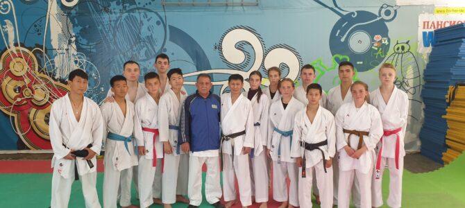 Сахалинские каратисты завершили летние тренировочные сборы