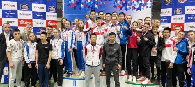 Сахалинские каратисты завоевали 20 медалей соревнований в Омске