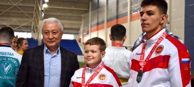 Даниил Сафин и Иван Власов стали победителями всероссийских соревнований по пара-каратэ