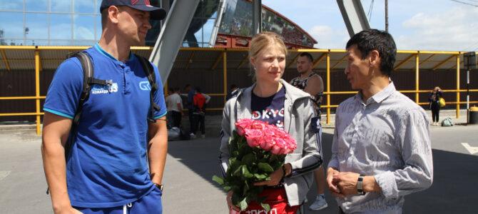 Каратистка Анна Чернышева прибыла на Сахалин для подготовки к летней Олимпиаде в Токио