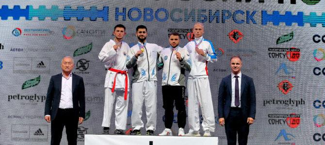 Семен Губайдулин завоевал серебро чемпионата России по каратэ в Новосибирске