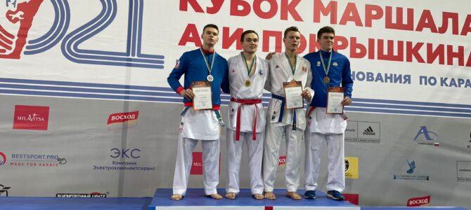 Сахалинские каратисты завоевали 18 медалей всероссийских соревнований в Новосибирске